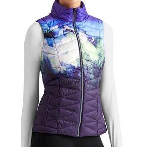 Athleta Altitude Watercolor Vest Large